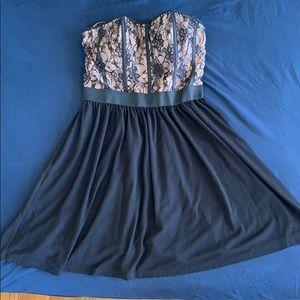 ELLE lace bodice dress